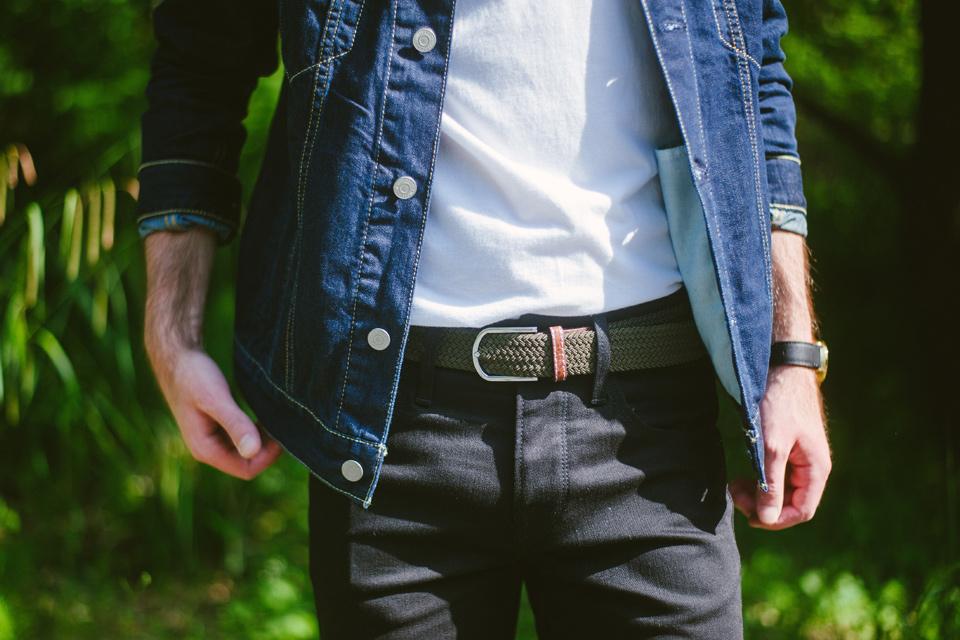 ceinture tressée billy belt