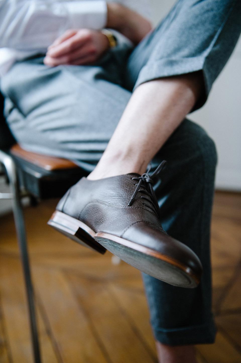 Chaussures Richelieu Homme