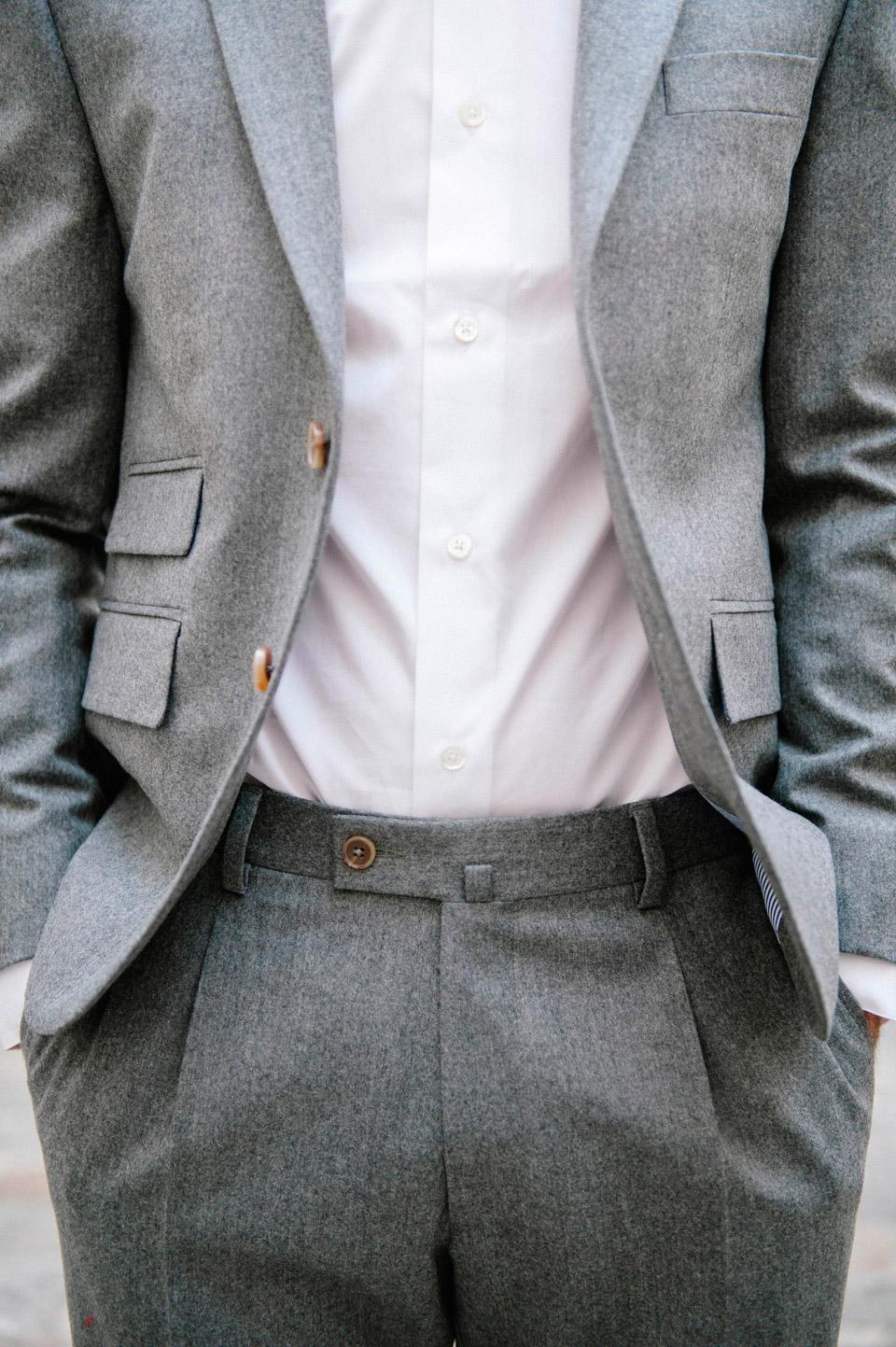 costume chemise confident