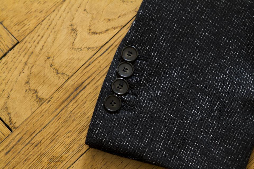 details boutonniere veste harmony