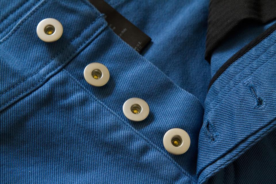 Boutonnière métal jeans