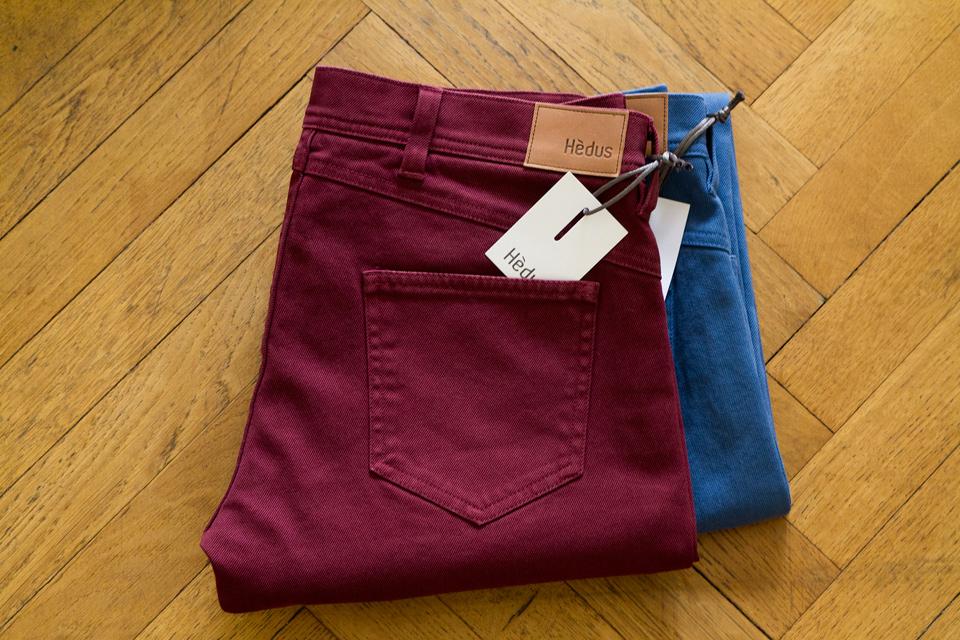 Jeans colorés Hèdus