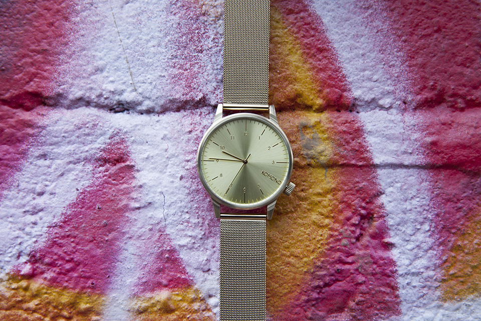 Montre Komono Winston Or