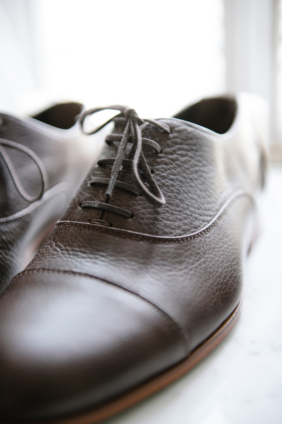 Chaussure Cuir Grainé