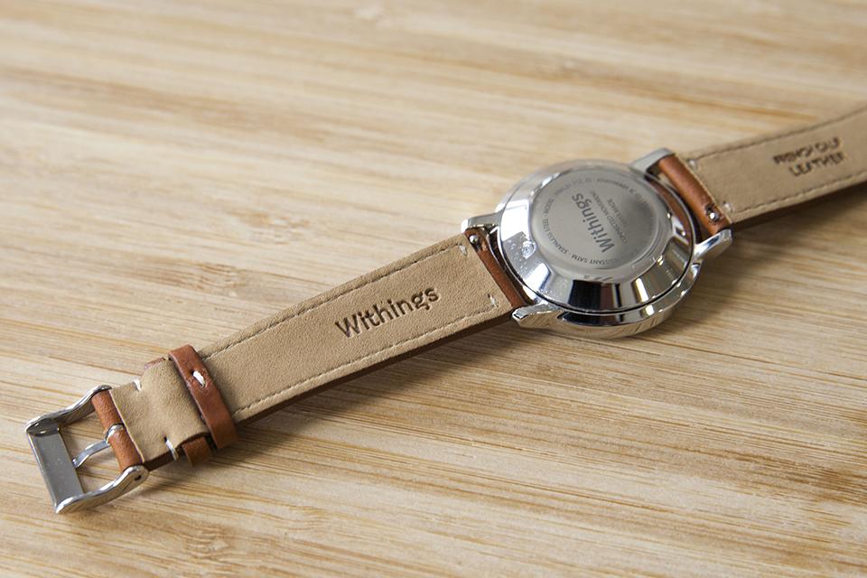 Montre Withings Activite Bracelet intérieur