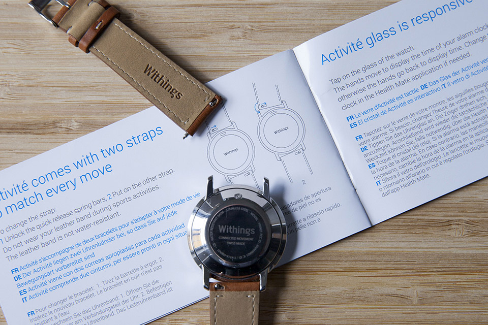 Montre Withings verins