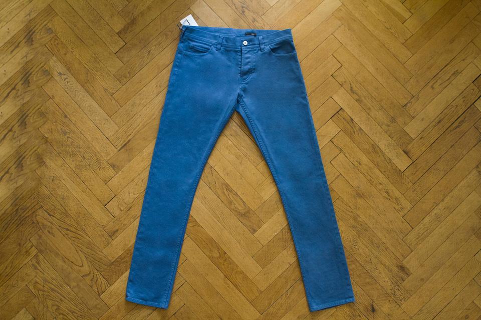 Pantalon 5 poches Hèdus Bleu