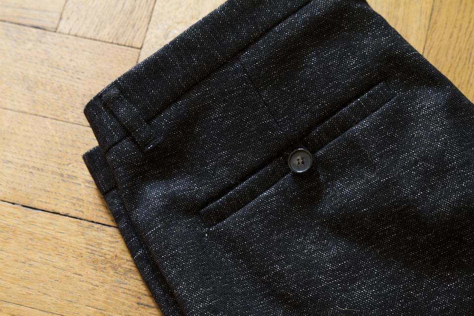 pantalon peter heather black harmony paris