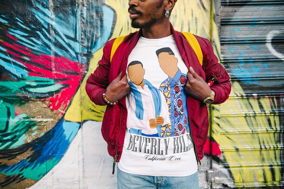 t-shirt fresh prince