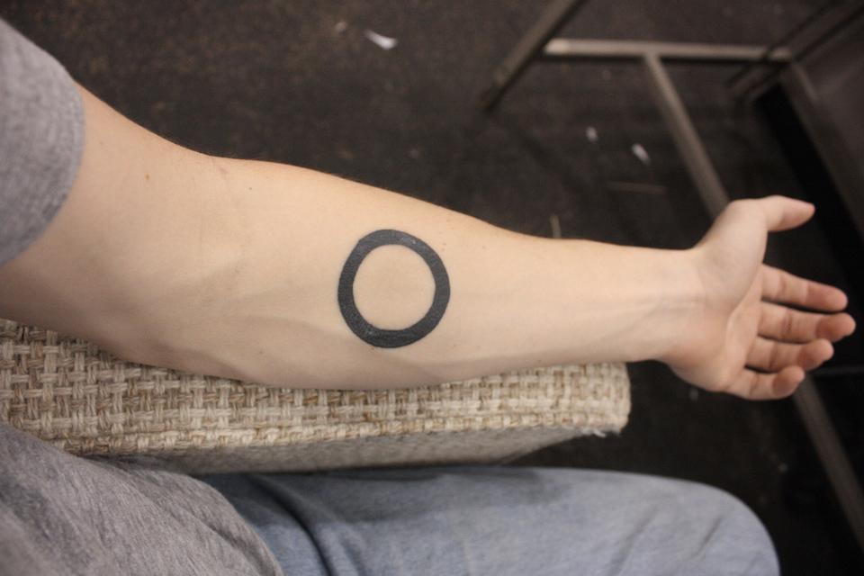 Tatouage cercle