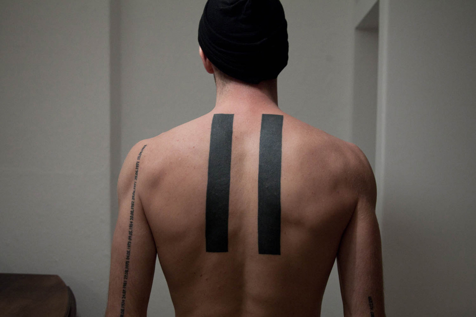 tatouage dorsal symétrique