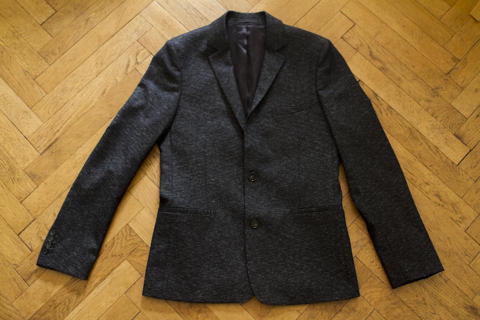 veste costume victor black harmony