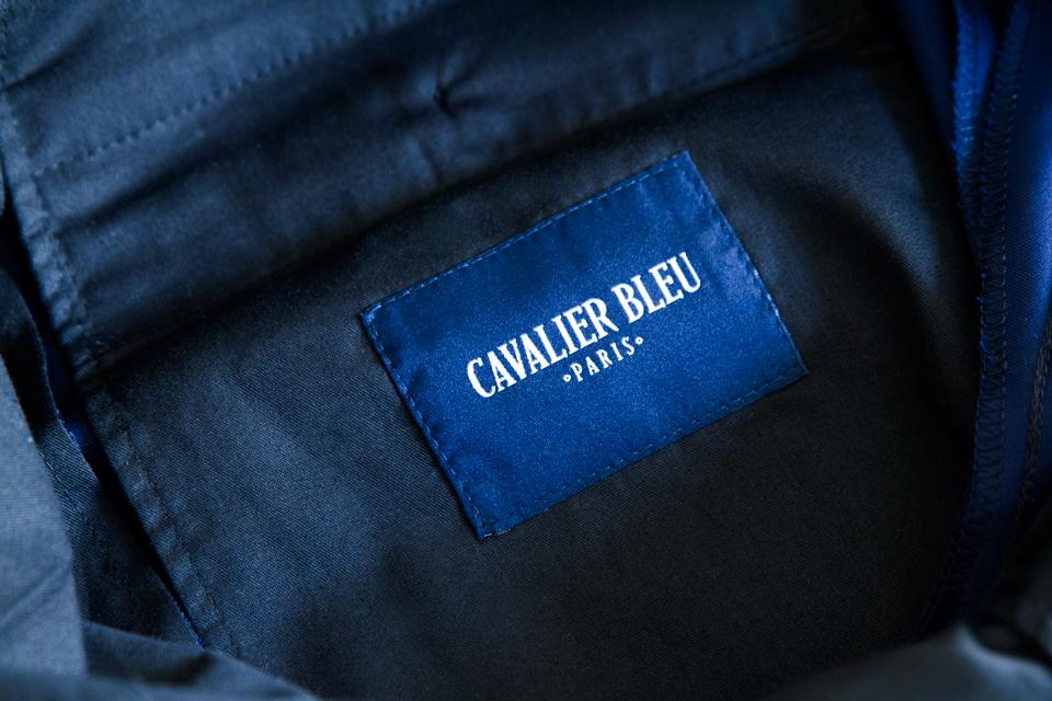 Cavalier bleu logo