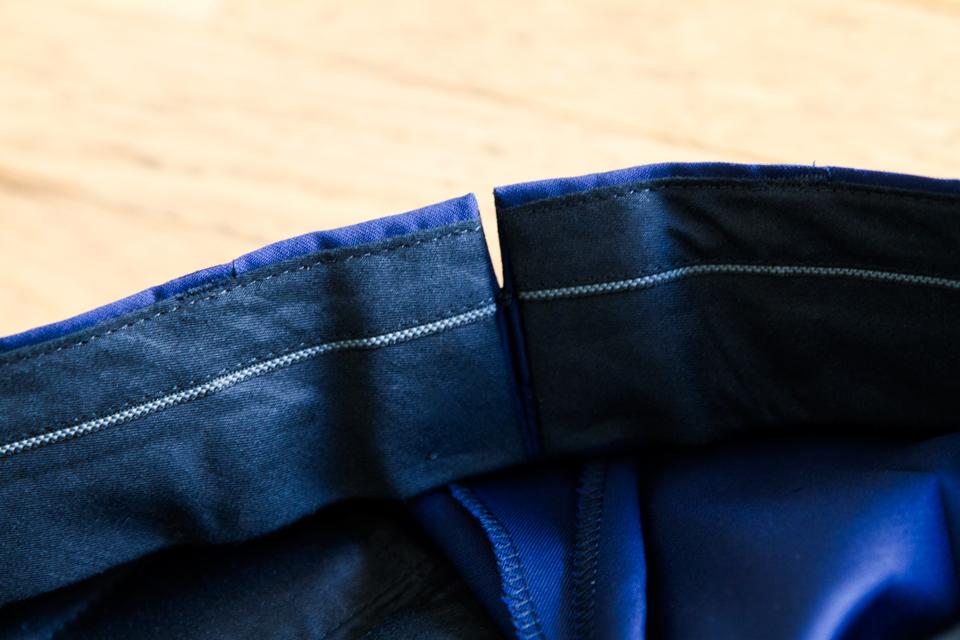doublage ceinture costume