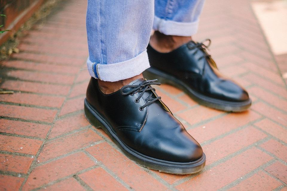Look veste chaussures doc martens
