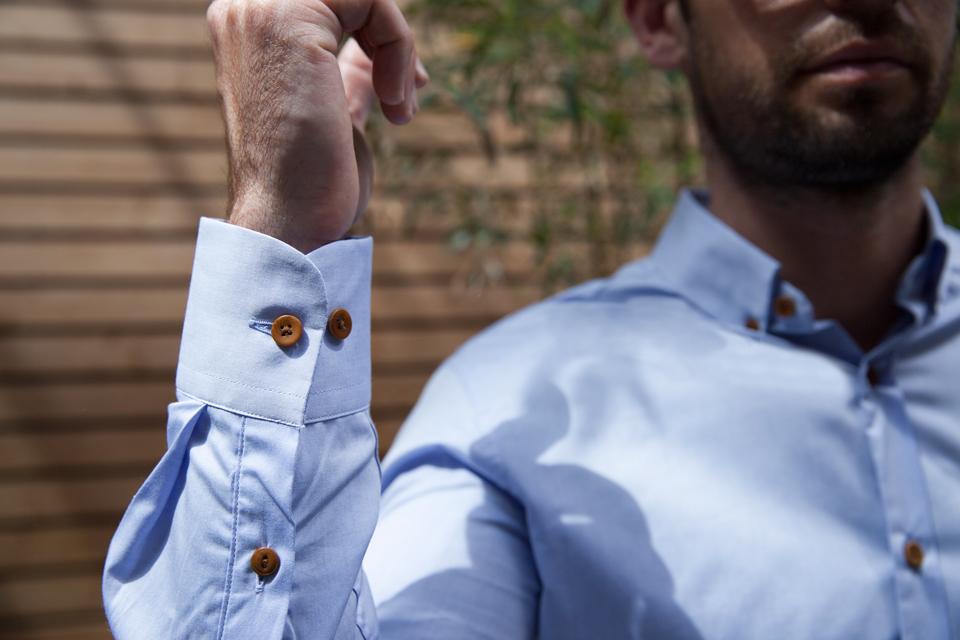 chemise homecore boutons bois