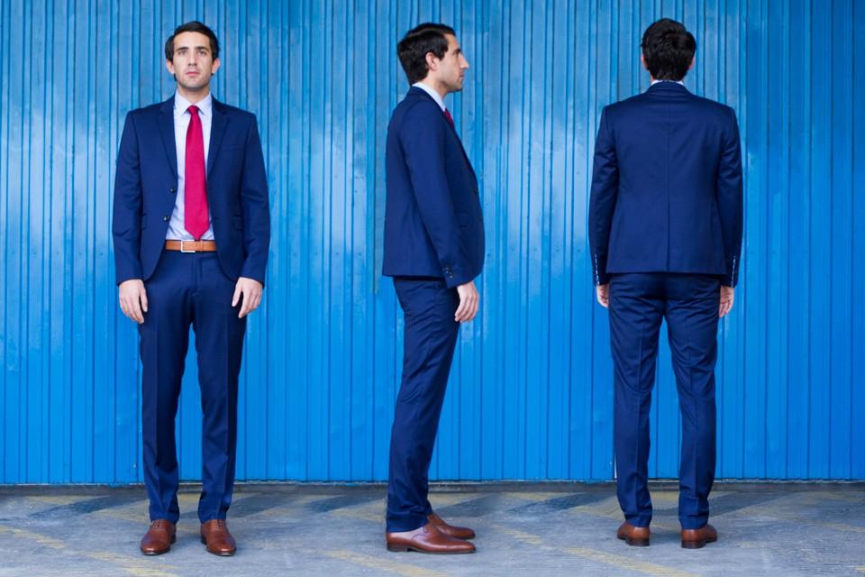 Costume cavalier bleu test avis - Quelle couleur avec pantalon bleu marine ...
