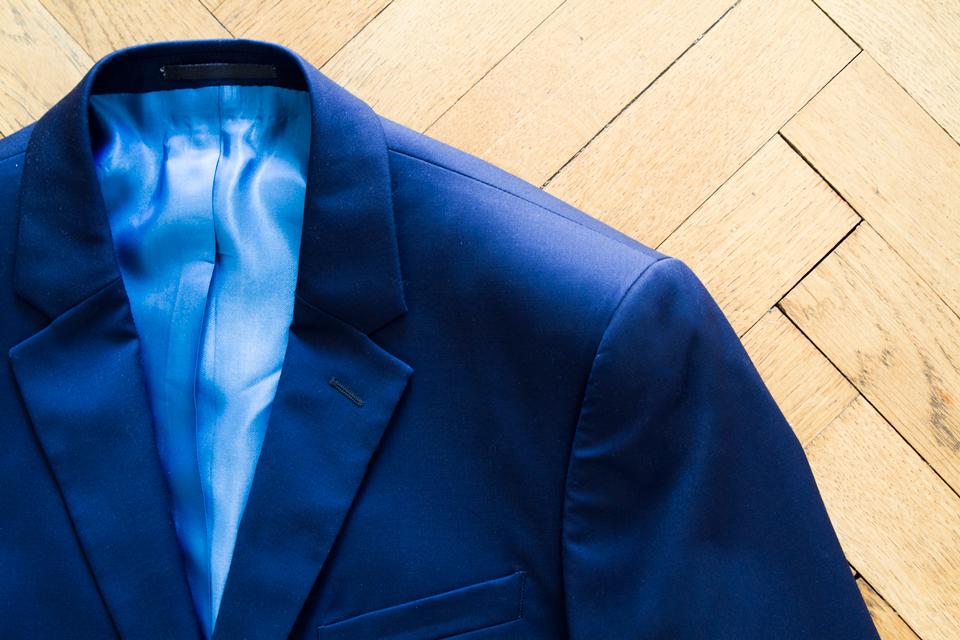 Costume Cavalier Bleu Veste
