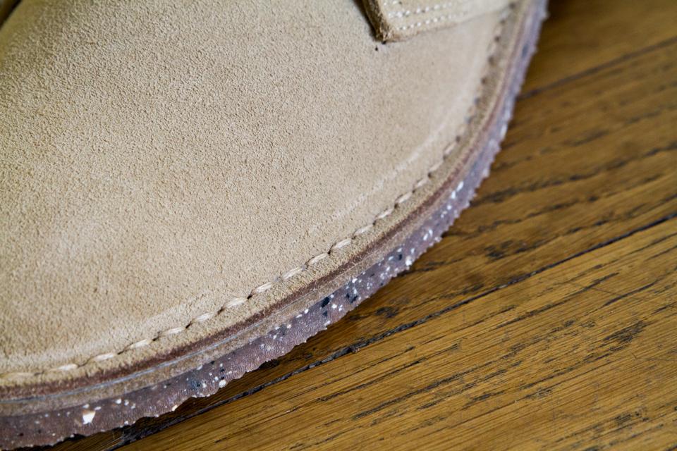 cousu sandalette desert boots