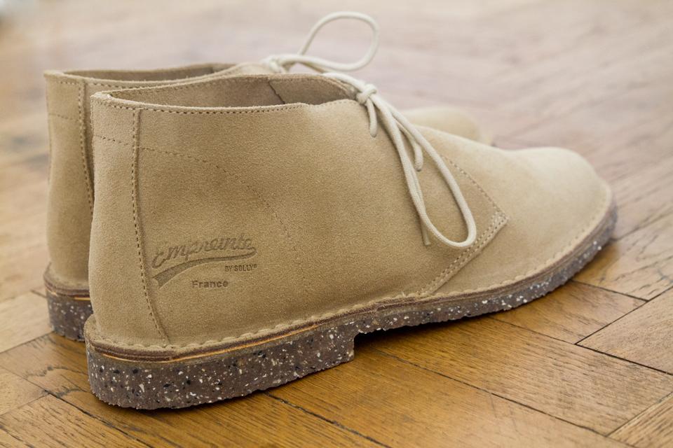 Desert boots empreinte france