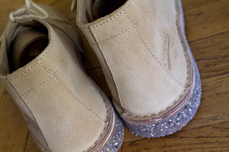 Empreinte desert boots renfort talon