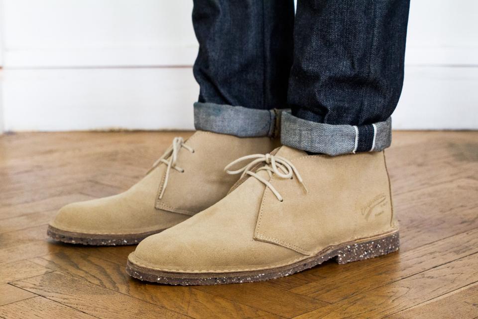 Desert boots empreinte test avis