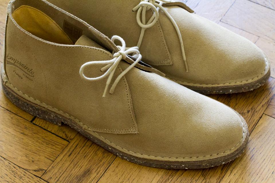 desert boots empreinte