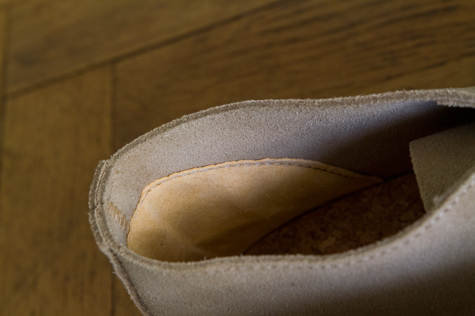 doublure chaussures homme