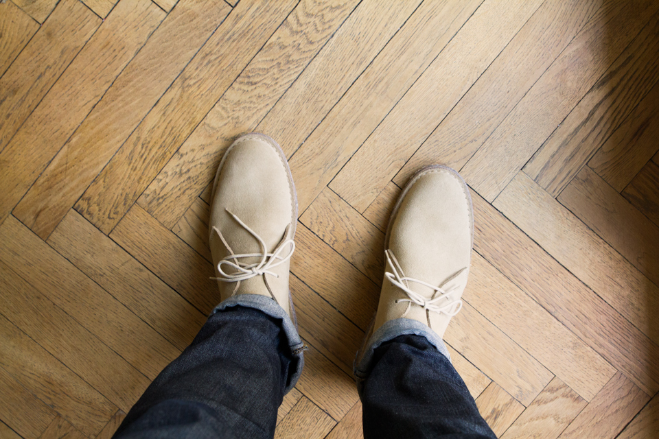 desert boot empreinte test et avis desert boots homme. Black Bedroom Furniture Sets. Home Design Ideas