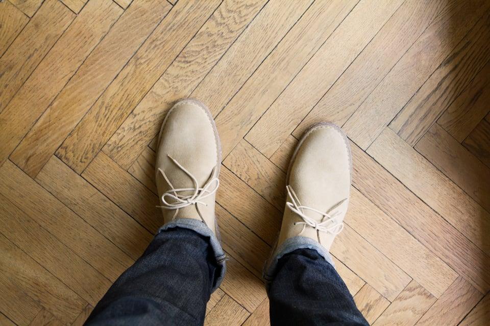 desert boots homme beige