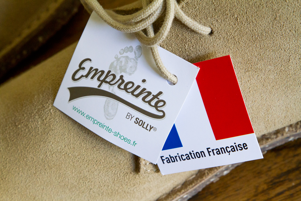 empreinte chaussures made in france