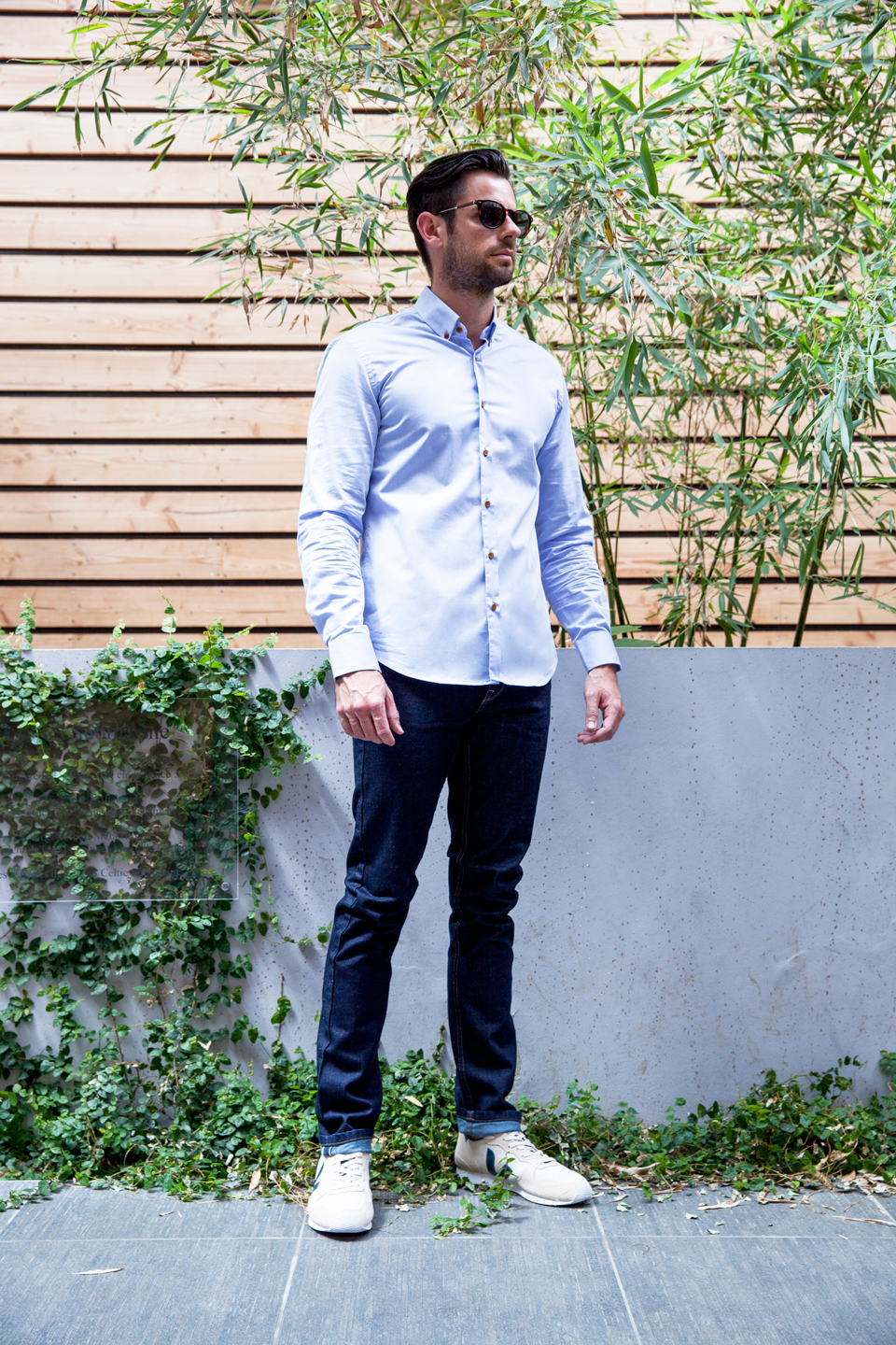 look homme casual chemise