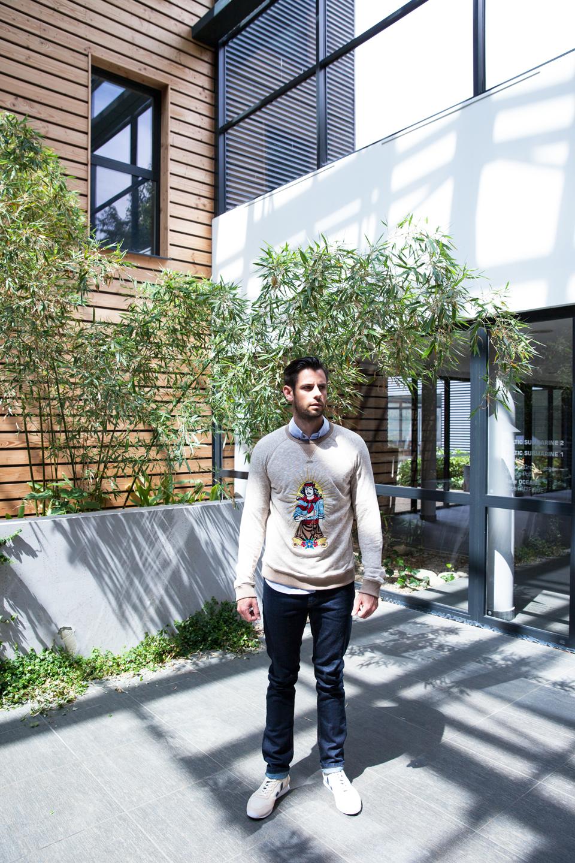 look homme sweatshirt