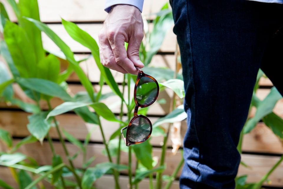 monture lunette arrondie homme