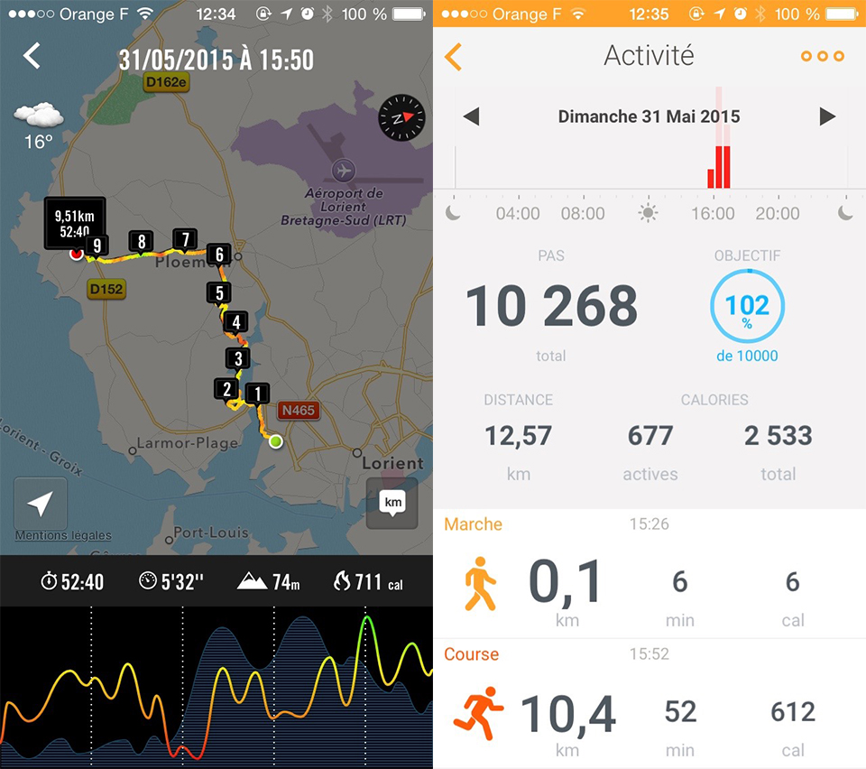 Montre Withings Nike+