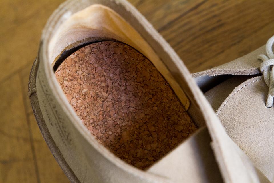 Semelle interieure liège chaussures