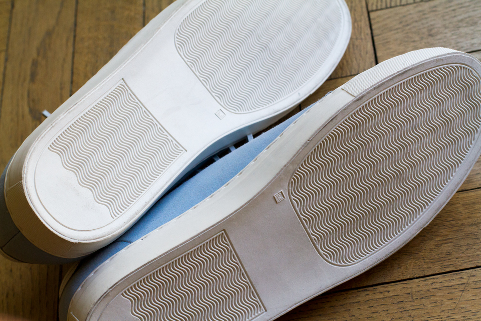 Semelle sneakers luxe