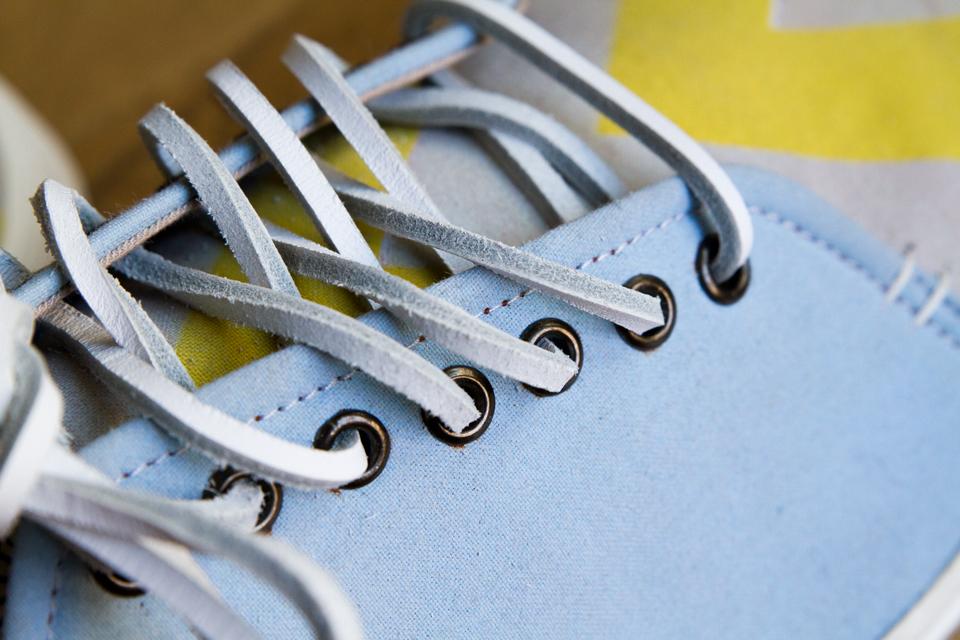 Oeillets metal lacets cuir