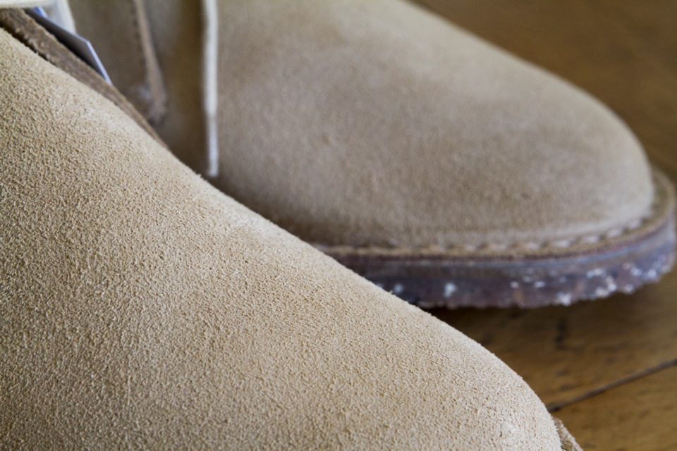 boots suede homme