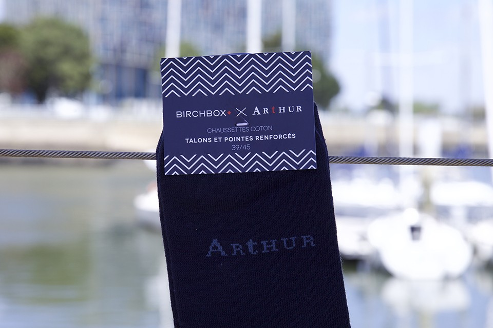 Chaussettes Arthur x Birchbox