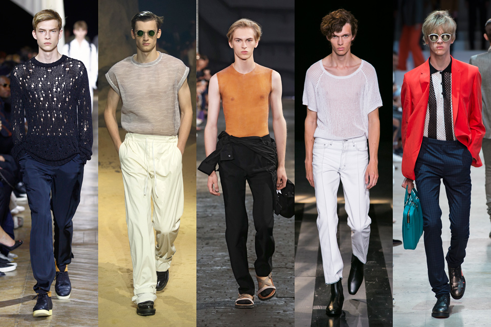 Mode Homme Transparence