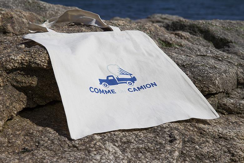 Tote bag à la plage