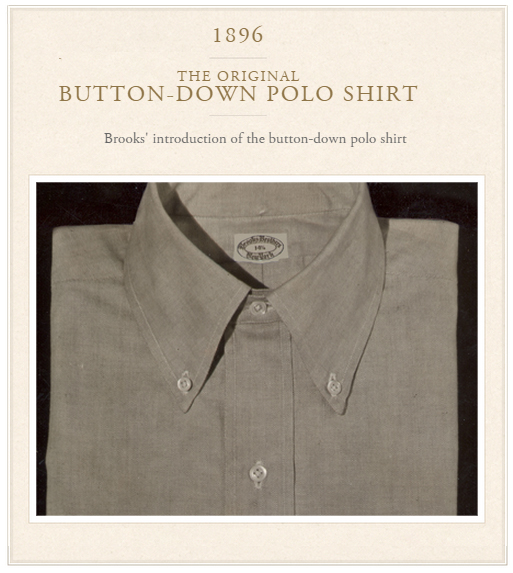 brooks brothers original polo shirt