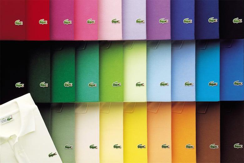 coloris polo lacoste