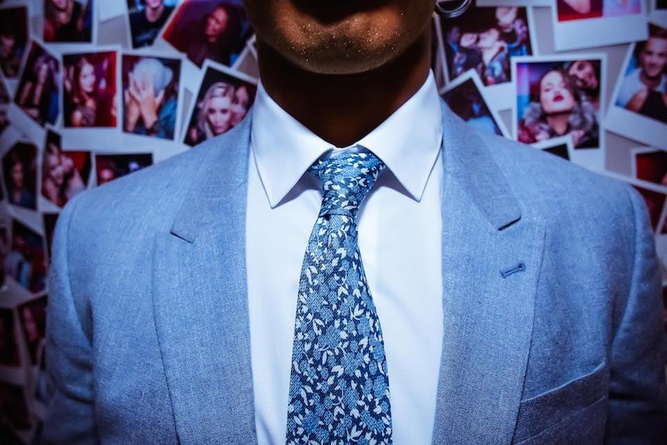 cravate liberty atelier particulier chemise balibaris