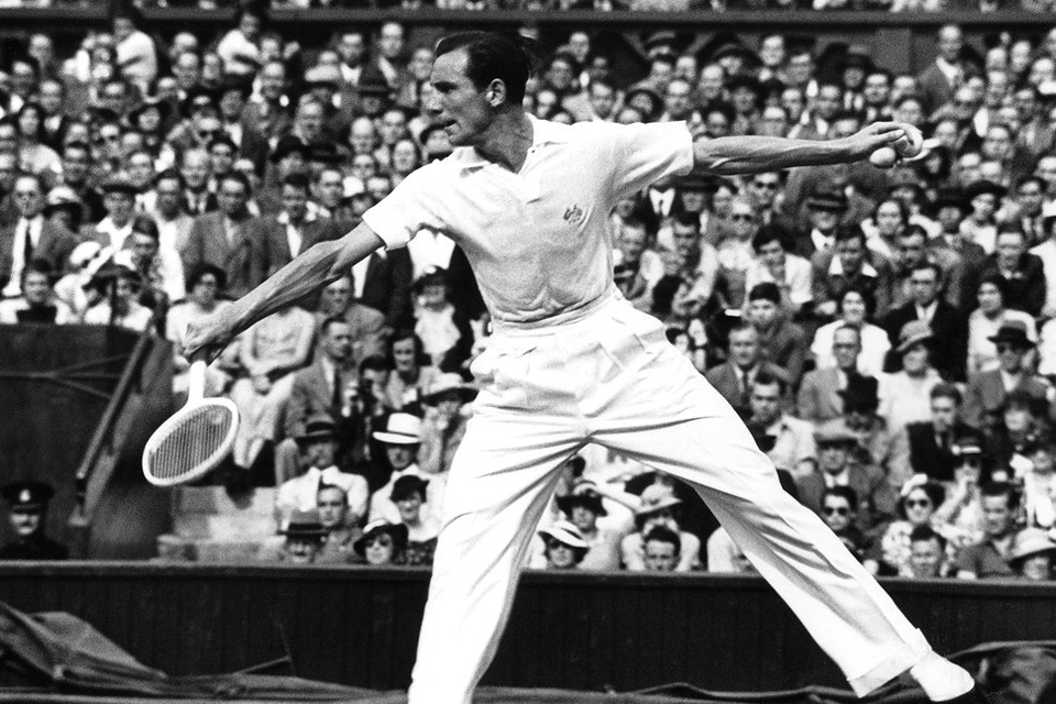 fred perry wimbledon 1938