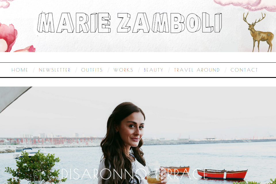 marie zamboli blog italie