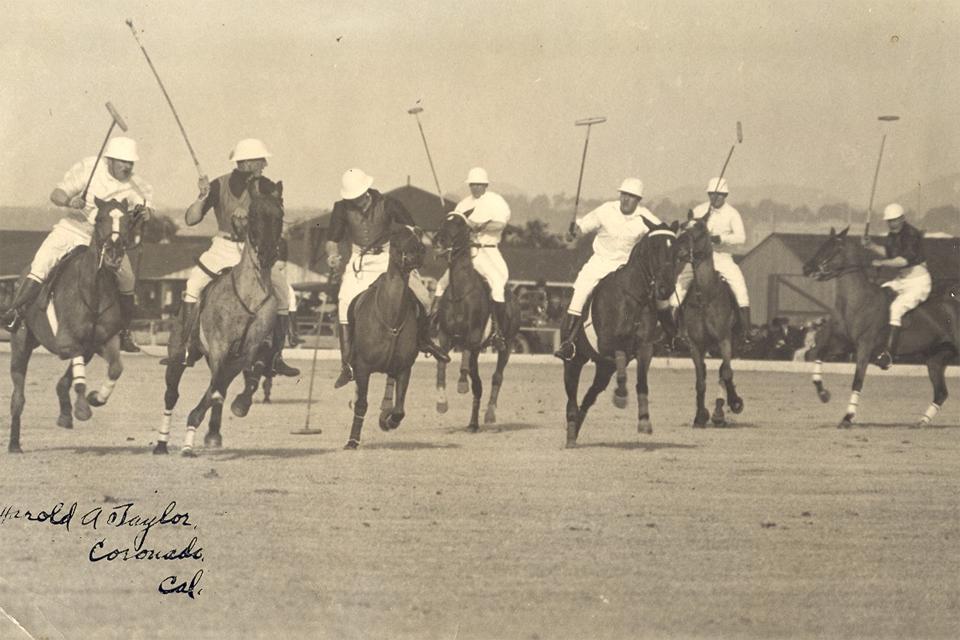 photo ancienne polo