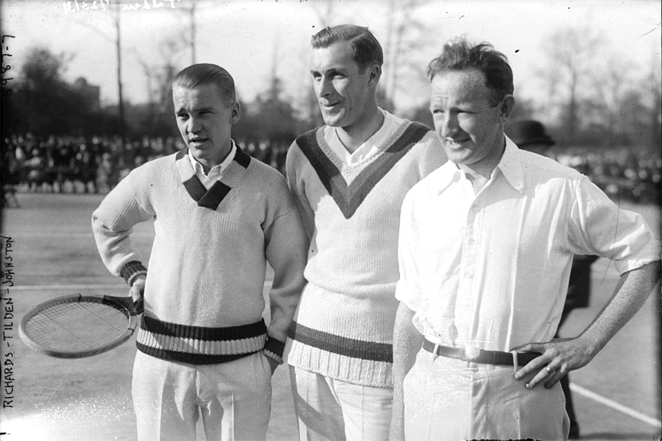 t billden 1920s tennis