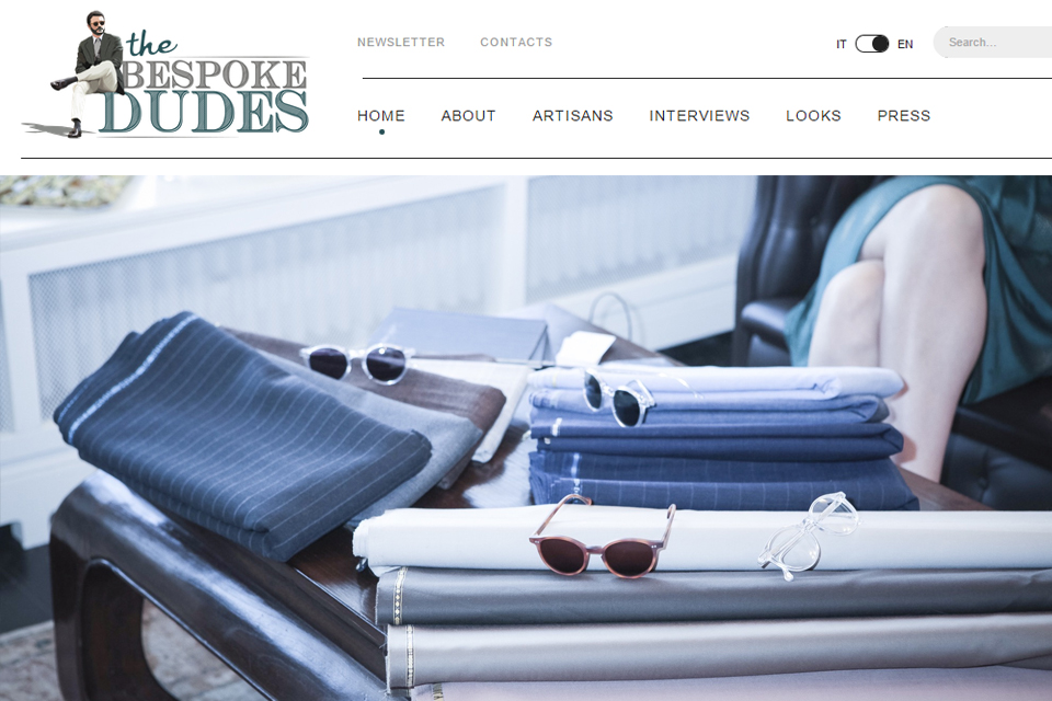 the bespoke dudes italie blog